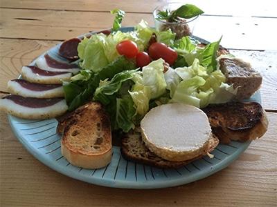 Assiette spéciale oies du Périgord
